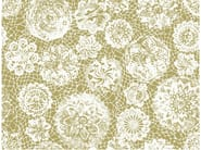 Nonwoven wallpaper with floral pattern JEAN PAUL GAULTIER - PUNTO MADAMA by LELIEVRE