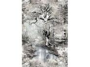 Landscape nonwoven wallpaper JEAN PAUL GAULTIER - SOUS BOIS by LELIEVRE