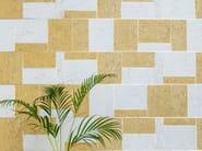 Motif cork wallpaper KHATAM MODERN MOSAIC by Omexco