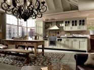 Cucina componibile in legno massello KREOLA - COMPOSIZIONE 04 by Marchi Cucine