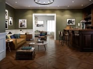Porcelain stoneware wall/floor tiles with wood effect LAKEWOOD COFFER by CERAMICA SANT'AGOSTINO