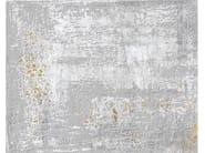 Handmade rectangular rug LAN 4425 by Arte di tappeti