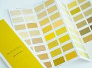 Acrylic decorative painting finish LES JAUNES - MAT SOYEUX by Ressource
