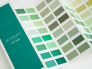 Washable water-based paint LES VERTS  - SATIN VELOUTÉ by Ressource