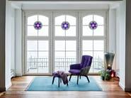 High-back fabric armchair MARLA EASY CHAIR HIGH by Freifrau