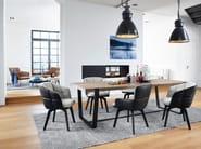 Chair with high armrests MARLA ARMCHAIR HIGH by Freifrau