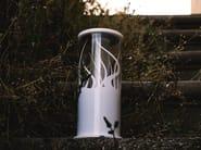 Lampada portatile a LED in PMMA con batteria ricaricabile MEME 2 by Kriladesign