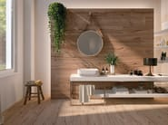 Porcelain stoneware flooring with wood effect MILLELEGNI REMAKE OLMO NATURALE by EmilCeramica