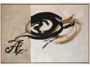 Paper Painting Moka I by NOVOCUADRO ART COMPANY