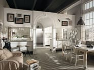 Cucina componibile laccata MONTSERRAT - COMPOSIZIONE 01 by Marchi Cucine