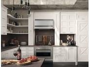 Cucina componibile laccata con penisola MONTSERRAT - COMPOSIZIONE 05 by Marchi Cucine