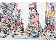 Canvas Painting New York Five by NOVOCUADRO ART COMPANY