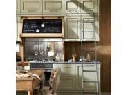 Cucina componibile laccata NOLITA - COMPOSIZIONE 01 by Marchi Cucine