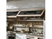 Cucina componibile laccata con isola NOLITA - COMPOSIZIONE 02 by Marchi Cucine