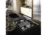 Cucina componibile laccata con isola OPERÀ - COMPOSIZIONE 01 by Marchi Cucine