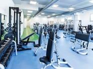 Pavimentazione per palestre fitness e sale polifunzionali