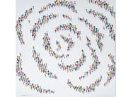Canvas Painting People Spiral by NOVOCUADRO ART COMPANY