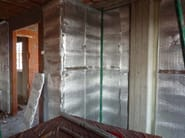 Isolamento termico ed acustico di pareti esterne con pannello OVER-WALL