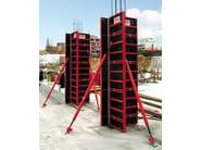 Cassaforma leggera per pilastri e setti