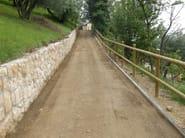 STABILSANA Strade e percorsi pedonali in terra battuta stabilizzata, drenante   Istituto Piccole Figlie di San Giuseppe - Via Fontana del Ferro   Località Torricelle (Verona)