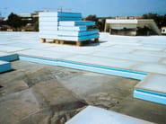 Pannello termoisolante in XPS per tetti piani