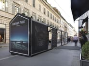 GLASS HOUSE CAGIS EXCLUSIVE INSTALLATION at AUDEMARS PIGUET - MILANO Via Montenapoleone (dal 14 al 23 Ottobre 2013)