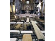 Trave NPS® BASIC Travi REP® Nor per il restauro della Chiesa di Sizzano, Novara.