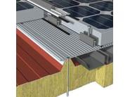 Fissaggio per moduli fotovoltaici
