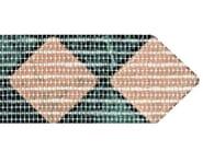 Reti in fibra di vetro per supporto mosaici e piastrelle supporto