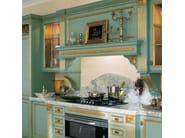Cucina laccata foglia oro in stile veneziano FORTUNA GOLD - GD ...