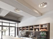 Indirect light recessed ceiling lamp USO 1400 by Flos
