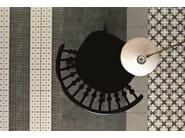 Glazed stoneware wall/floor tiles AZULEJ NERO ESTRELA by Mutina