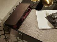Scrittoio in acciaio inox AIR DESK W by Gallotti&Radice