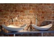 Lavabo in HI-MACS® HI-MACS® per bagno by HI-MACS
