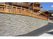 Rivestimento in pietra naturale per esterni LUSERNA RUSTICA | Rivestimento in pietra naturale by B&B Rivestimenti Naturali