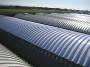 Pannello metallico coibentato per copertura
