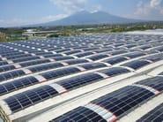 Modulo fotovoltaico per coperture prefabbricate