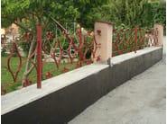 Utilizzo di WATsto su un muretto di recinzione affetto da risalita di umidità