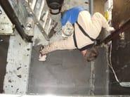 Utilizzo di WATsto per il bloccaggio della risalità di acqua su una fossa di ascensore