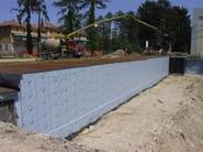 Bituthene® 8000 Bituthene® 8000 applicato a muro controterra