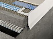 Profilo e scossalina per impermeabilizzazione in alluminio