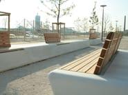 Concrete Rudolph modular grc bench arpa by concrete rudolph design realgrün