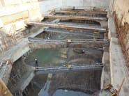 Sistema trave, pilastro e solaio in acciaio-calcestuzzo