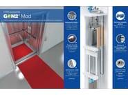 Kit di ammodernamento per ascensori esistenti