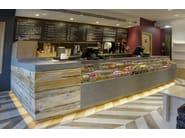 HI-MACS® - Hotel & Ristoranti Nudo Sushi Box - Design: James Richardson - Fabrication: Swandene Contract Interiors - Photo Credits: Ron Richardson