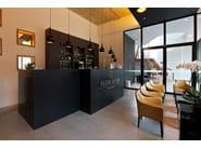 HI-MACS® - Hotel & Ristoranti Fleur de Lin restaurant - Design KLETZ, Belgium - Fabrication SAAM, Belgium
