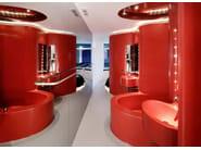 HI-MACS® - Hotel & Ristoranti Hotel Silken Puerta America - Design Ron Arad - Photo Credits: Rafael Vargas