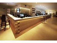 HI-MACS® - Hotel & Ristoranti Design: Nuca Studio, Architect: Robert Marin, Fabricator: Atvangarde Surfaces, Photo Credits: Stelian Popa