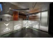 HI-MACS® - Hotel & Ristoranti Bar L'Ora by Lucchese Design - Fabrication: FLES Design - Photos: Federico Sbardolini