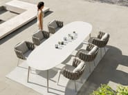 Garden table TOSCA | Dining table by TRIBÙ